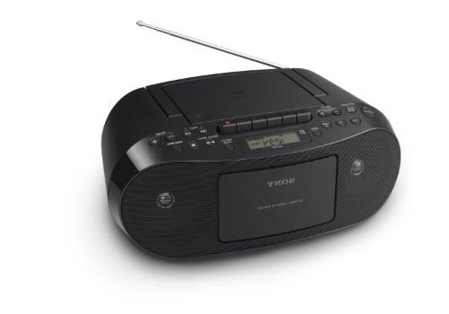 Sony CFDS50 Portable CD, Cassette & AM/FM Radio Boombox-
